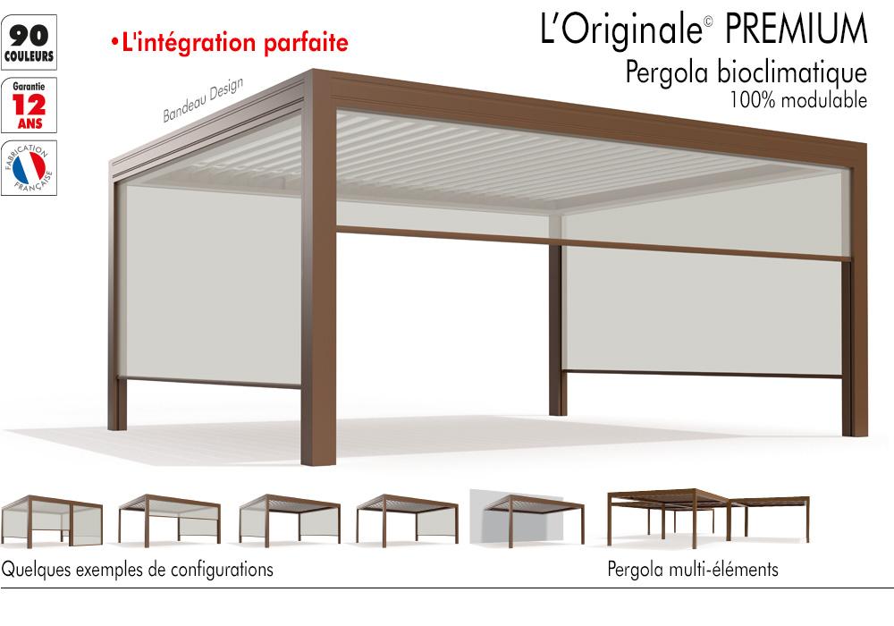 Pergola l'Originale Premium de Matest Stores et Pergolas
